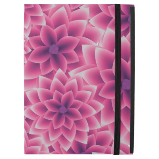 "Summer colorful pattern purple dahlia iPad pro 12.9"" case"
