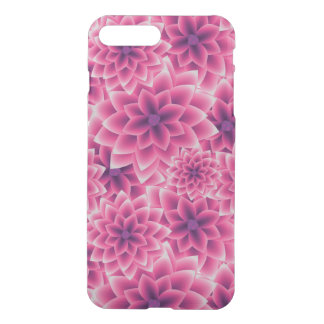 Summer colorful pattern purple dahlia iPhone 7 plus case