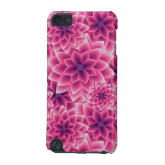 Summer colorful pattern purple dahlia iPod touch 5G case