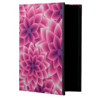 Summer colorful pattern purple dahlia powis iPad air 2 case