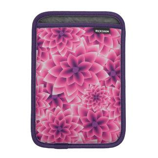 Summer colorful pattern purple dahlia sleeve for iPad mini