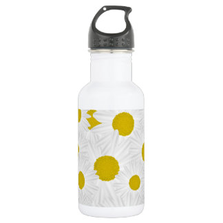 Summer colorful pattern purple marguerite 532 ml water bottle