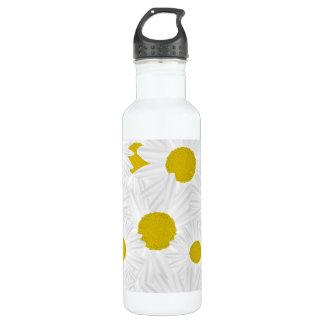 Summer colorful pattern purple marguerite 710 ml water bottle