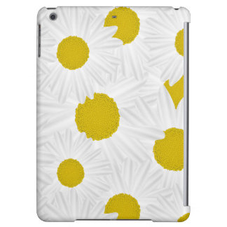 Summer colorful pattern purple marguerite iPad air case