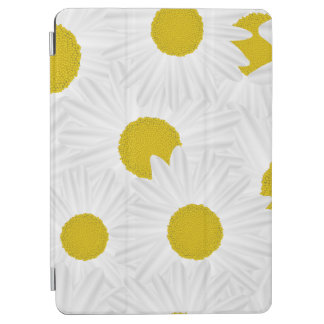 Summer colorful pattern purple marguerite iPad air cover