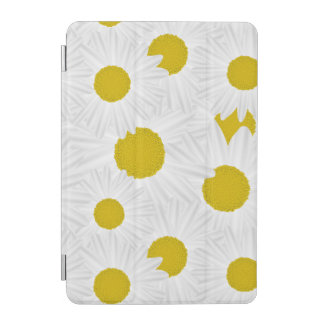 Summer colorful pattern purple marguerite iPad mini cover