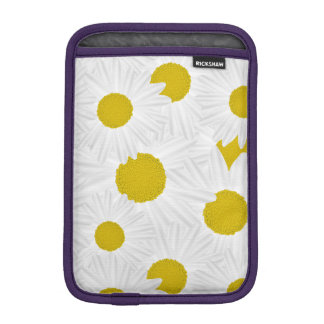 Summer colorful pattern purple marguerite iPad mini sleeves