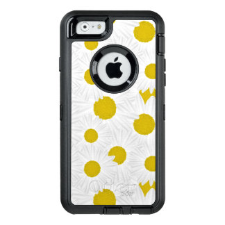 Summer colorful pattern purple marguerite OtterBox iPhone 6/6s case