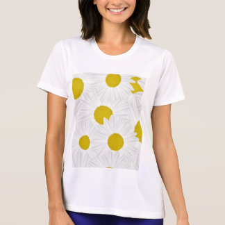 Summer colorful pattern purple marguerite T-Shirt