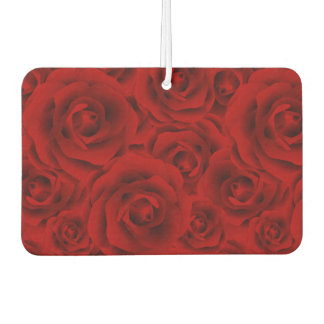 Summer colorful pattern rose air freshener