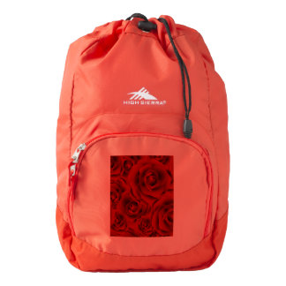 Summer colorful pattern rose backpack