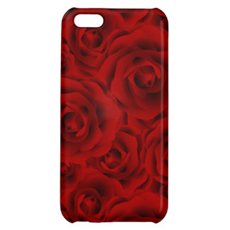 Summer colorful pattern rose case for iPhone 5C
