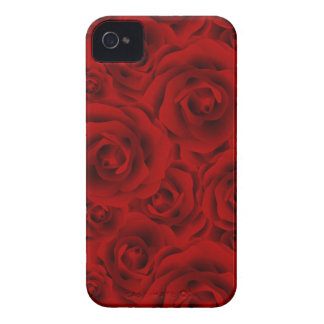 Summer colorful pattern rose Case-Mate iPhone 4 case