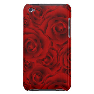 Summer colorful pattern rose Case-Mate iPod touch case