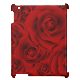 Summer colorful pattern rose cover for the iPad