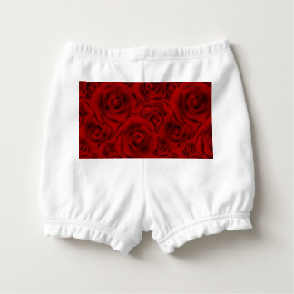 Summer colorful pattern rose diaper cover