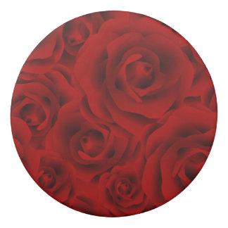 Summer colorful pattern rose eraser