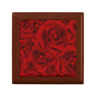 Summer colorful pattern rose gift box