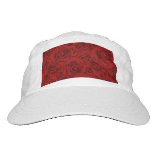 Summer colorful pattern rose hat