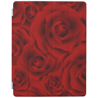 Summer colorful pattern rose iPad cover