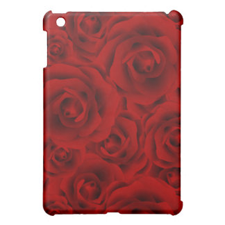 Summer colorful pattern rose iPad mini cover