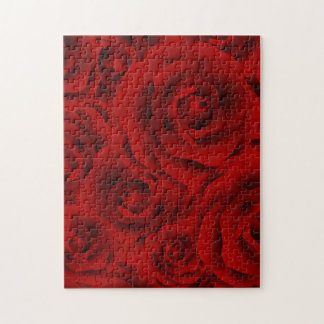 Summer colorful pattern rose jigsaw puzzle