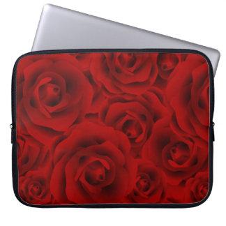 Summer colorful pattern rose laptop sleeve