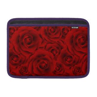 Summer colorful pattern rose MacBook sleeve