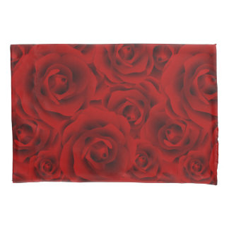 Summer colorful pattern rose pillowcase