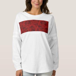 Summer colorful pattern rose spirit jersey