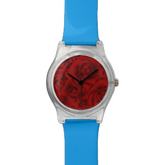 Summer colorful pattern rose watch