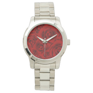 Summer colorful pattern rose watches