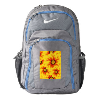 Summer colorful pattern yellow tickseed backpack