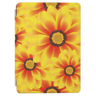 Summer colorful pattern yellow tickseed iPad air cover