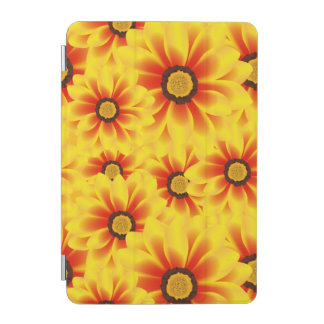 Summer colorful pattern yellow tickseed iPad mini cover