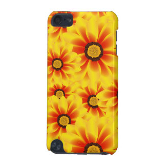 Summer colorful pattern yellow tickseed iPod touch 5G covers