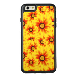 Summer colorful pattern yellow tickseed OtterBox iPhone 6/6s plus case