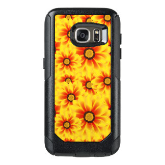 Summer colorful pattern yellow tickseed OtterBox samsung galaxy s7 case