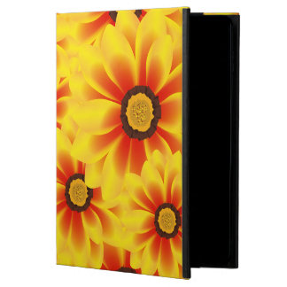 Summer colorful pattern yellow tickseed powis iPad air 2 case