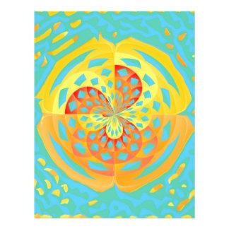 Summer colors flyer