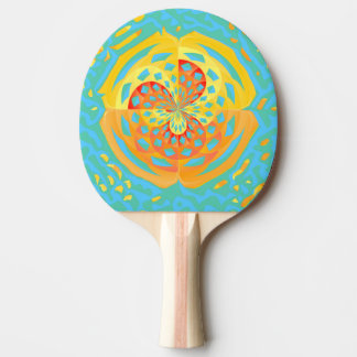 Summer colors Ping-Pong paddle