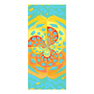 Summer colors rack card template