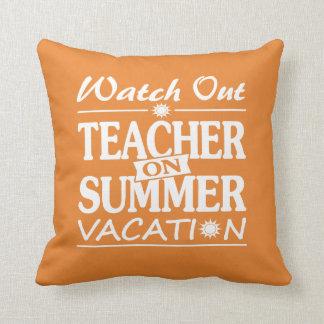 Summer Coming - Teacher Design! Throw Pillow