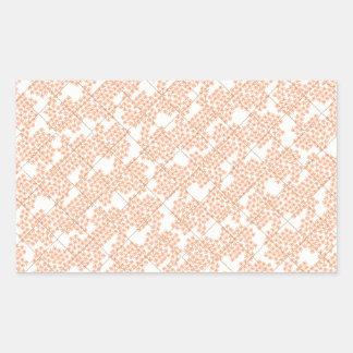 Summer Cottage Fleur Rectangular Stickers