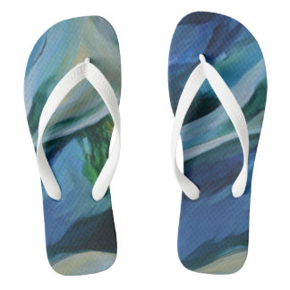 Summer Custom Adult, Wide Straps Flip Flops
