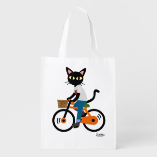 Summer Cycling Market Tote