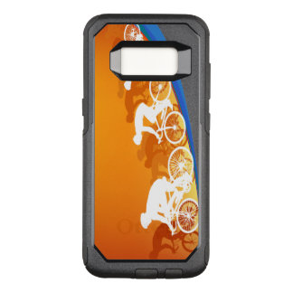 Summer Cycling OtterBox Commuter Samsung Galaxy S8 Case