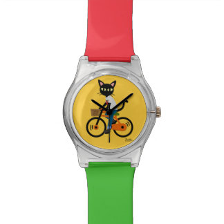 Summer cycling watch