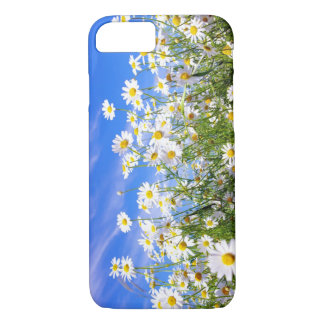 Summer daisies in field iPhone 7 case