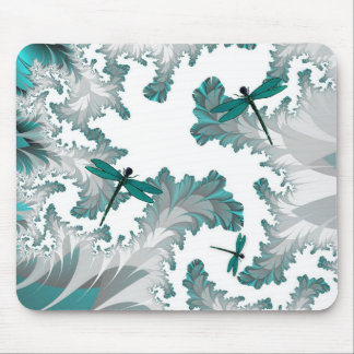 Summer Day Dragonflies Mousepad
